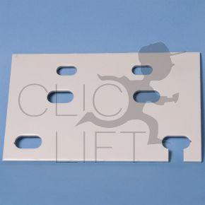 Platte Schienenbefestigung T75X62X10 T65X54X8