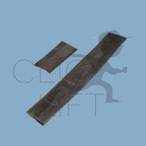 Kautschukfahne SCHNITT L=300mm für D= 3mm