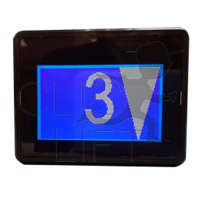 "3"" LCD Anzeige blau + Anschluss: BOV300000000011"