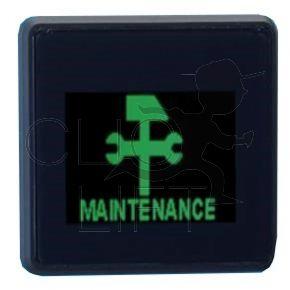 "3"" LCD-Anzeige grün + Stecker (BOV400000000011)"