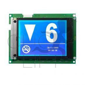 """6"""" LCD-Anzeige mit integrierter Ansage CAN + 3 Anschlüsse (SAF)"""