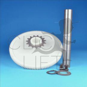 Kunststoffrolle + Achse für Selektor 7039