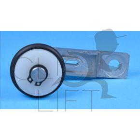 Hebel Achse 67mm für Stütze Verriegelung Skg-Drehtüre