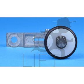 Hebel Achse 107mm für Stütze Verriegelung Skg-Drehtüre