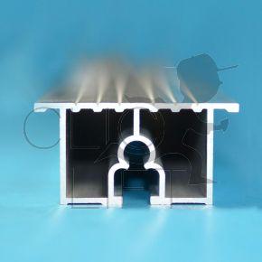 Aluminium door track for SD20 1000mm C/O
