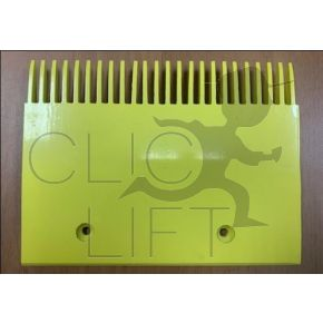 606 NCT yellow comb plate -24 teeth- 203,184 mm- GAA453BV51-middle