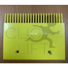 606 NCT yellow comb plate -23 teeth-197,99 mm- GAA453BV56-left